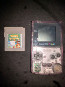 Gameboy Color w Kirby's Dream Land