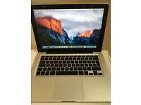 Macbook pro 2.53Ghz intel dual core Os x El Capitan