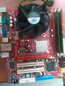 Motherboard cpu ram combo