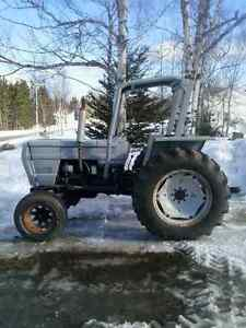 white 45hp tractor