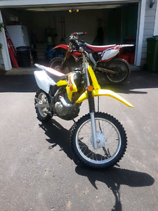 2015 Drz125 with FMF exhaust