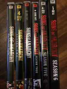 Sons of Anarchy - Seasons 1-6
