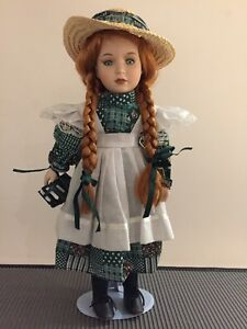 Genuine Porcelain Doll - Authentic Anne of Green Gables from PEI West Island Greater Montréal image 1