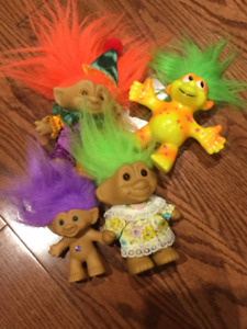Set of 4 Trolls - In Great Condition