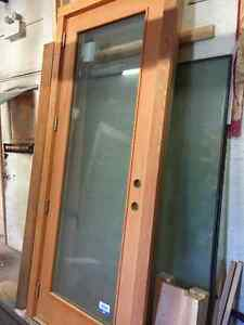 Single French Exterior Door