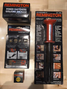 Remington Powered Actuated Fastening Tool Set