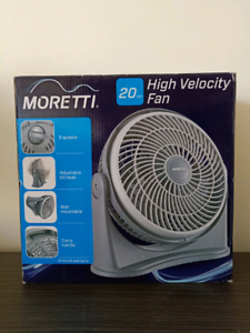 Moretti High Velocity Fan 20cm