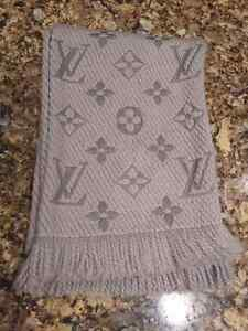 Louis Vuitton and Versace Scarf