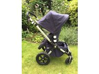 Bugaboo Cameleon 3 Classic Pushchair Navy & Accessories
