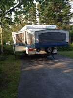 Extra large tent trailer with slideout!