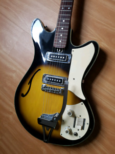 VINTAGE TEISCO ELECTRIC GUITAR
