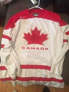 Olympic Canada jersey.