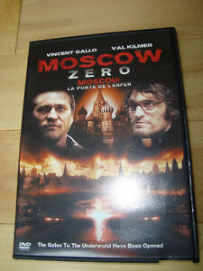 DVD -Moscow Zero -Val Kilmer&Vincent Gallo-Perfect Shape Kitchener / Waterloo Kitchener Area image 3