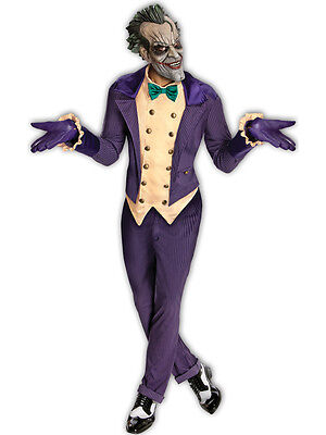 Купить Adult Licensed Batman The Joker Fancy Dress Costume Halloween Mens Gents с доставкой