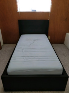 Twin Size Bed Frame + Mattress