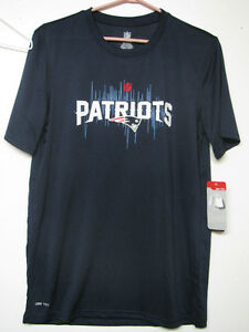 NFL OFFICIAL NEW ENGLAND PATRIOTS DRYTEC T-SHIRT NWT ADULT/YOUTH