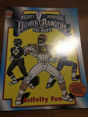 Mighty Morphin Power Rangers The Movie Activity Fun Coloring Book