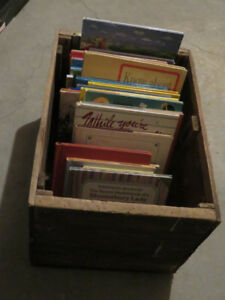 Boxes of BOOKS now $1 each