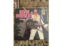 Elvis Presley LP records