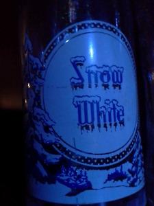 Snow White  (objets .Recherché)