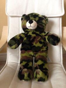 Genuine build a bear (build-a-bear) camouflage like new.