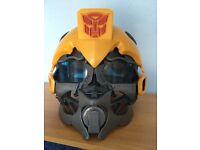 Transformer helmet bumblebee