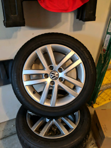 OEM VW Rims and Tires for Jetta, Golf, Golf Sportwagon 205/55R16