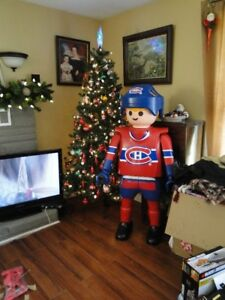 Life size Playmobile Playmobil Hockey Player Montreal Canadians