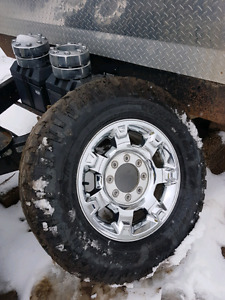 Superduty rims and tires