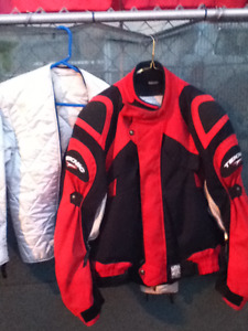 Red Motocycle jacket Med