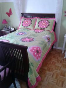 Literie réversible pour lit Double ou Queen