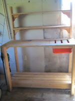 Potting Bench with dry sink