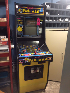 Baby Pac Man Arcade Upright coin op game  PRICE REDUCED!