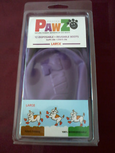 WATERPROOF DOG BOOTS - SIZE LARGE