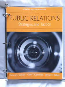 Public Relations: Strategies and Tactics 11th Edition loose leaf
