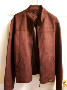 Medium suede jacket new with tags