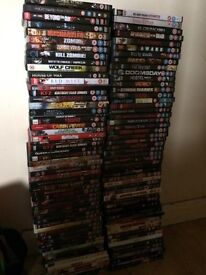 Horror dvds 120 plus