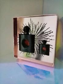 Ysl, black opium perfumes gift set,50ml & 7.5ml