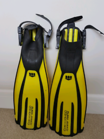 Open Water Scuba Fins - MARES small