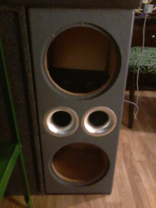 dual sub boxes 10 inch and 12 inch