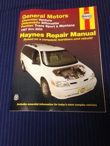 haynes manual trans sport montana