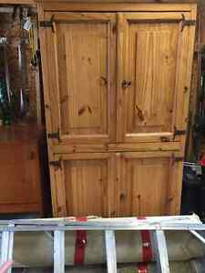 Knotty Pine Cabinet