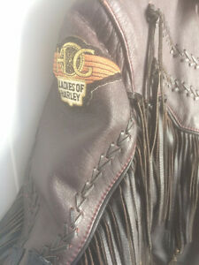 LADIES MOTORCYCLE JACKET  size 14  Beautiful
