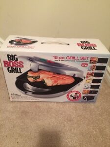 GRILL SET *BRAND NEW, NEVER USED*