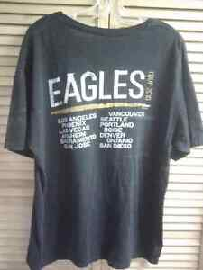 XL Black T-Shirt The Eagles 2010 Tour Prince George British Columbia image 2