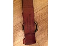 Jack Wills ladies leather belt.