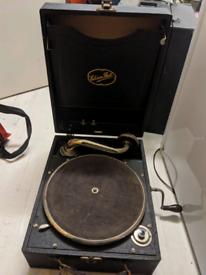 Rare Edison Bell portable gramophone