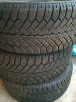 Tires with rim 195/55 r15