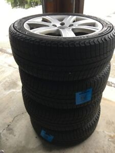 Michelin X-Ice Xi3 Winter Radial Tires 225/50R17/XL & Audi Rims