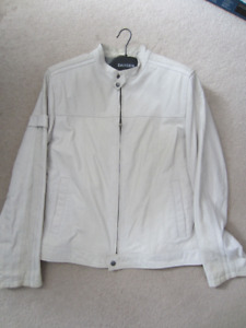 Brand New Danier Leather  MENS White Leather jacket $75 OBO